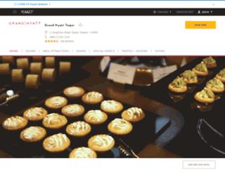 taipei.grand.hyatt.com screenshot