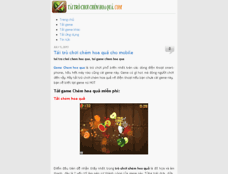 taitrochoichemhoaqua.com screenshot