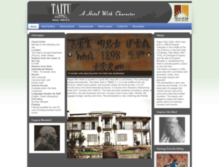 taituhotel.com screenshot