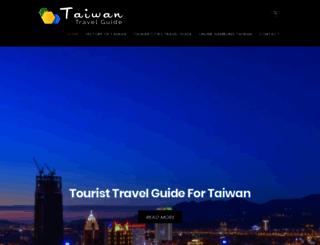 taiwan-guide.org screenshot