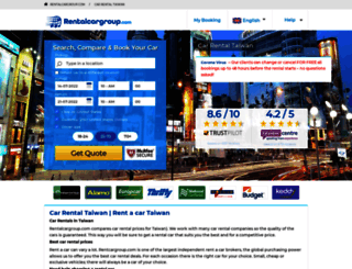 taiwan.rentalcargroup.com screenshot