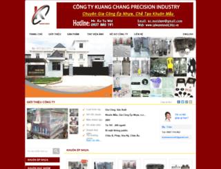 taiwanmould.bizz.vn screenshot
