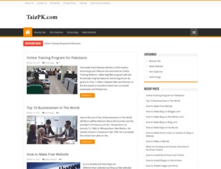 taizpk.com screenshot