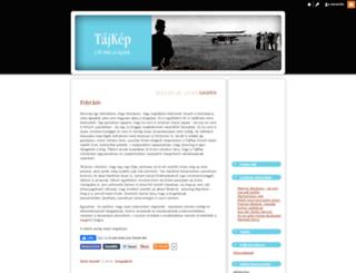 tajkep.blog.hu screenshot