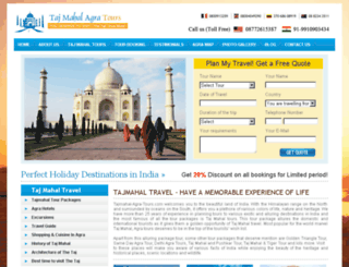 tajmahal-agra-tours.com screenshot