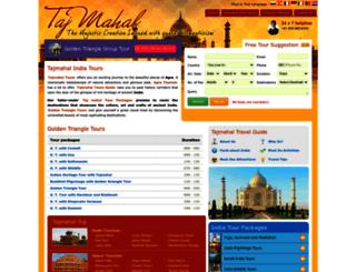 tajmahal-india-tours.com screenshot