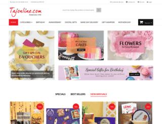 tajonline.tolshop.com screenshot