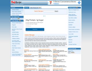 tajrecipe.com screenshot