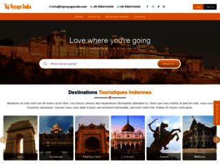tajvoyageindia.com screenshot