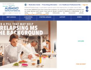 takeactionms.aubagio.com screenshot