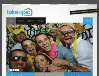 takeapic.com.mx screenshot