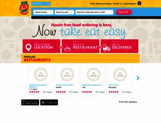 takeeat.com screenshot