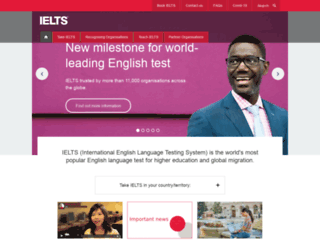 takeielts.org screenshot