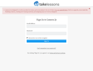 takelessons.lesson.ly screenshot