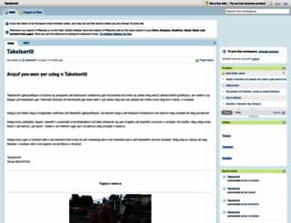 takelsertit.pbworks.com screenshot