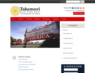 takemorilaw.com screenshot
