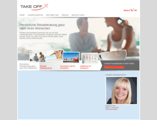 takeoff-reisen.de screenshot