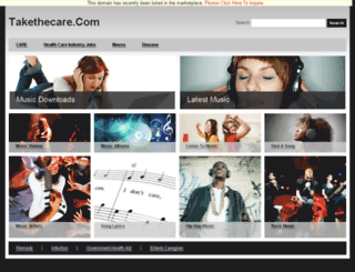 takethecare.com screenshot