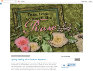 taketimetosmelltherose.blogspot.com screenshot