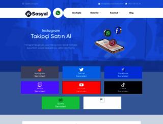 takipcisatinal.com.tr screenshot