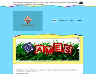 takkengames.weebly.com screenshot