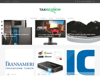 takreview.com screenshot