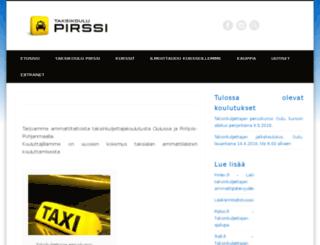 taksikoulupirssi.fi screenshot