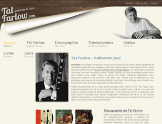 tal-farlow.com screenshot