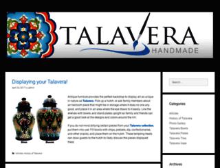 talavera.com screenshot