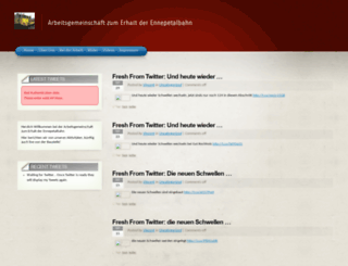 talbahn.org screenshot