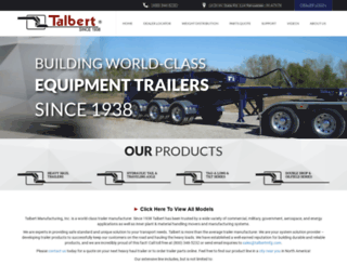 talbertmfg.com screenshot