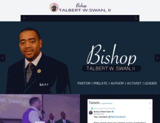 talbertswan.org screenshot