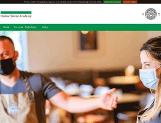talentacademy.pizzaexpress.com screenshot