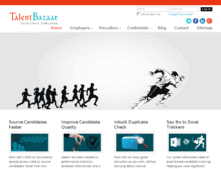 talentbazaar.com screenshot