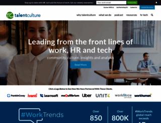 talentculture.com screenshot