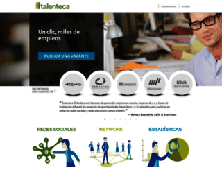 talenteca.com screenshot