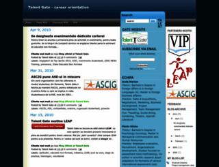talentgate.blogspot.com screenshot