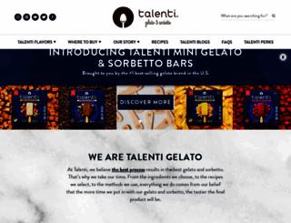 talentigelato.com screenshot