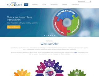 talentmaximus.com screenshot