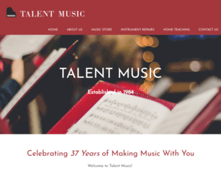 talentmusic.com.sg screenshot