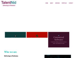 talentnid.com screenshot