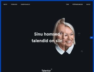 talentor.ee screenshot