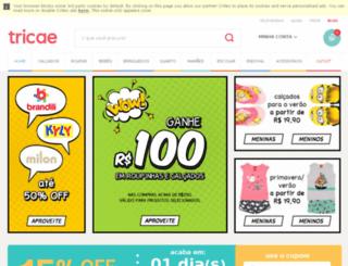 talentos.tricae.com.br screenshot