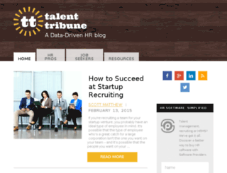 talenttribune.softwareproviders.com screenshot