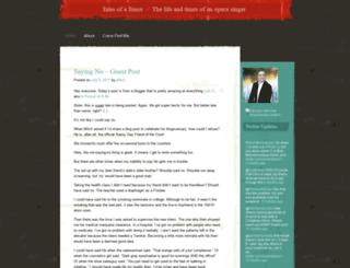 talesofatenor.wordpress.com screenshot