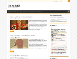 talha.net screenshot