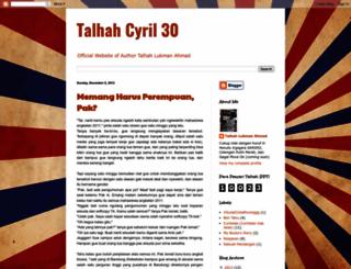 talhahcyril30.blogspot.com screenshot