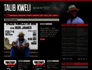 talibkweli.com screenshot