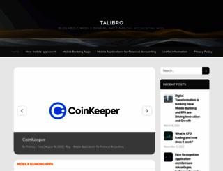 talibro.com screenshot