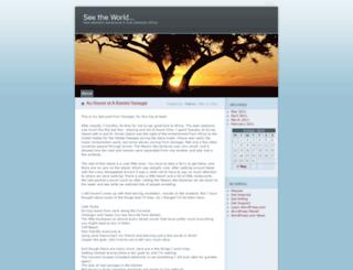 talinec.wordpress.com screenshot